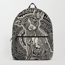 Polynesian Chihuahua Backpack