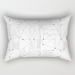 LINES OF CONFUSION Rectangular Pillow