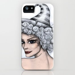 Strangeness And Charm iPhone Case