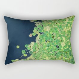 nymphaea Rectangular Pillow