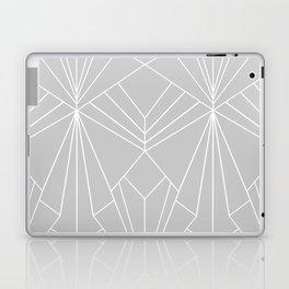 Art Deco on Grey - Large Scale Laptop & iPad Skin