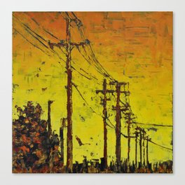 Maple Sunset Canvas Print