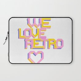 We Love Retro Laptop Sleeve