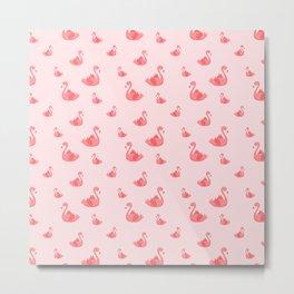 Pink flamingle Metal Print