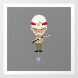 Honor Guard - BZQ Drill Art Print
