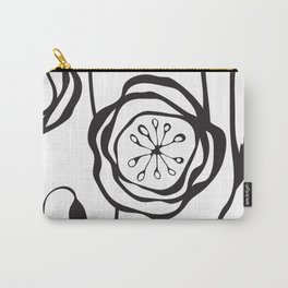 whimsical poppies Carry-All Pouch