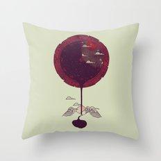 Night Falling Throw Pillow