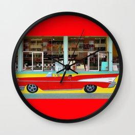 Drive-In Classic Wall Clock
