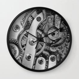 Inside Clockworks Wall Clock