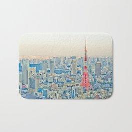 Tokyo tower Bath Mat