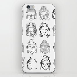 Many Buddhas iPhone Skin