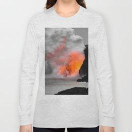 Lava Meets Ocean Long Sleeve T-shirt
