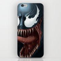 venom iPhone & iPod Skins featuring Venom by Fr0stArt