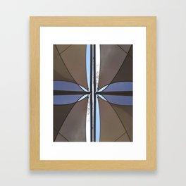 geometry under the sky I Framed Art Print