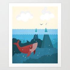 Hidden World Art Print