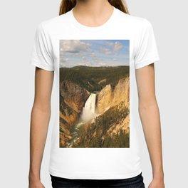 Majestic Yellowstone Upper Falls T-shirt