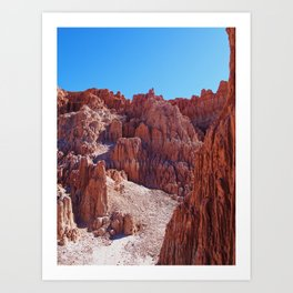 Cathedral Gorge 2 Art Print