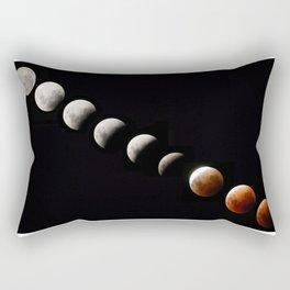 Super blue blood lunar eclipse 2018 Rectangular Pillow