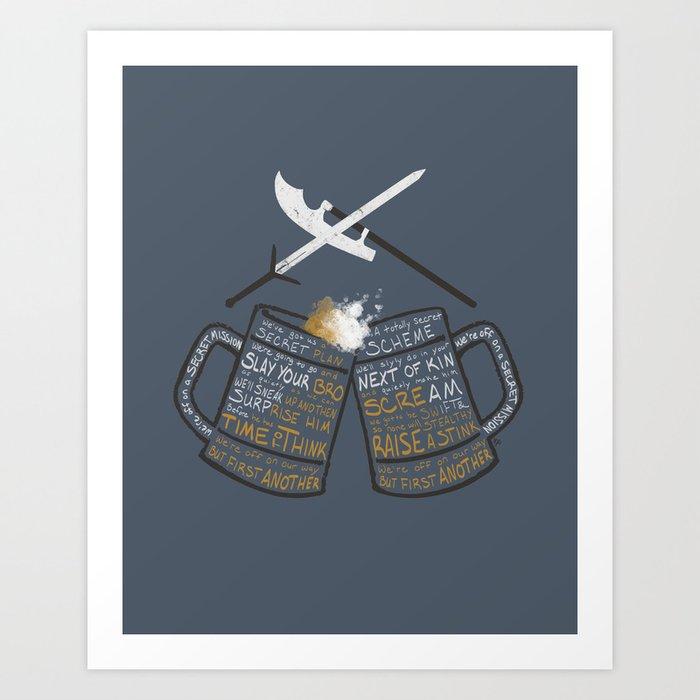 Galavant - Secret Mission Art Print