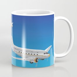 Airplane 3 DC-3s Coffee Mug