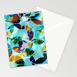 AquaFloral Stationery Cards