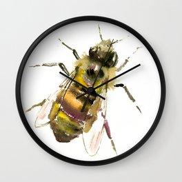 Honey Bee Wall Clock