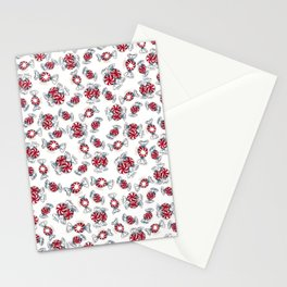 Holiday Peppermints Stationery Cards