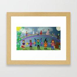 The Magic of Reading Framed Art Print