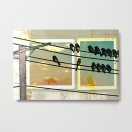 A New Part Of Town Metal Print