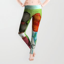Bosom Friends Anne oF Green Gables Leggings