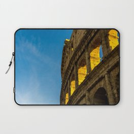 Sunset Over The Roman Colosseum. Laptop Sleeve