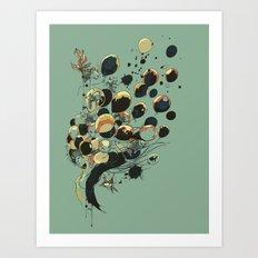 Floating Memories Art Print