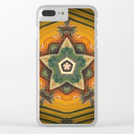 Summer Solstice Clear iPhone Case