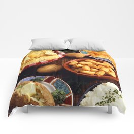 Potato Foods Comforters