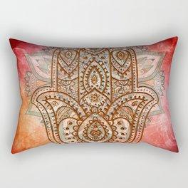 Hand of Fatima Rectangular Pillow