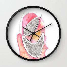 Scandi Micron Art Design   170412 Telomeres Healing 31 Wall Clock