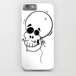 Ballon skull iPhone Case
