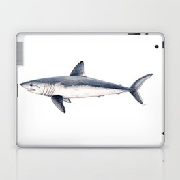 Porbeagle shark (Lamna nasus) Laptop & iPad Skin