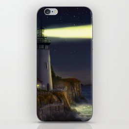 Night Light iPhone Skin