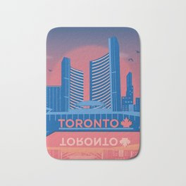 Toronto Nathan Phillips Square Canada by Cindy Rose Studio Bath Mat
