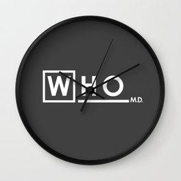 WHO MD Wall Clock