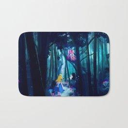 Alice in Wonderland Bath Mat