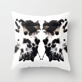 Rorschach No.1 Throw Pillow
