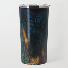 Wolf Cliff Travel Mug