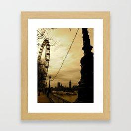 The Tour Framed Art Print