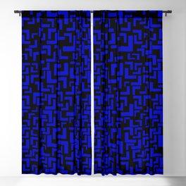 Glitches in the Void, Dark Blue Blackout Curtain