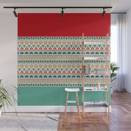 Ethnic ornament , 13 Wall Mural