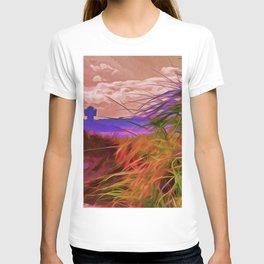 Sand Dunes (Digital Art) T-shirt