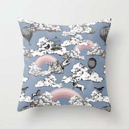 Seventh Heaven Throw Pillow