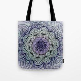 Mandala Violet Tote Bag